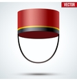 Bellboy Hat vector image