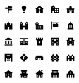 City Elements Icons 2 vector image vector image