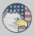 eagle american icon vector image