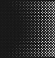 monochrome abstractal halftone square pattern vector image vector image