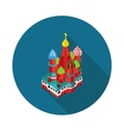 St Basil is Cathedral vector image
