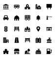 City Elements Icons 3 vector image