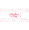 love and valentine day vector image vector image