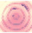 Pink Triangles vector image vector image