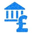 Pound Bank Grainy Texture Icon vector image vector image