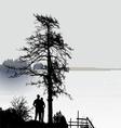 romantic view vector image vector image