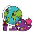 school teachers day vector image vector image