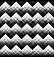 seamless black and white geometrical square vector image vector image