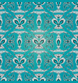 abstract embroidery seamless pattern light vector image vector image