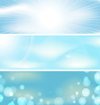 Abstract sky background banner vector image