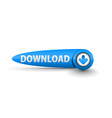Download button web vector image vector image