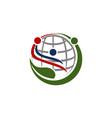 ecology world community vector image