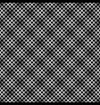 geometrical black and white abstract square vector image vector image