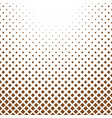 halftone square background pattern template vector image vector image