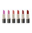 realistic 3d lipstick vector image