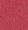 Winery Pattern vector image