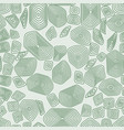 turtle seamless pattern green tortoise terrapin vector image