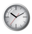 clock icon world time concept vector image vector image