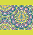 colorful geometric patterns vector image vector image