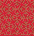 floral ornamental pattern geometric flourish vector image vector image