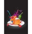 Gift Box Opening vector image