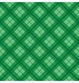Green Tartan Diamond Background vector image