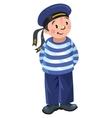 Happy sailor vector image