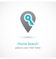 Home Search vector image