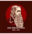 john gibson paton vector image