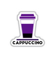 label frames and badges icons coffee emblem vector image vector image