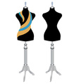 mannequin sewing vector image