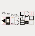 trendy template for social networks stories vector image