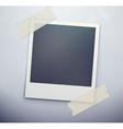 retro polaroid photo frame vector image