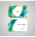 business card design template Can be edite vector image vector image