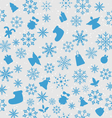 Christmas wallpaper with traditional elements vector image vector image
