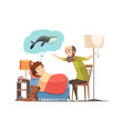 grandfather bedtime story cartoon poster