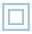 greek decoration frame vector image