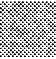 Seamless background black rotated squares vector image vector image