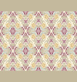 wallpaper with damask pattern in pastel colors vector image vector image