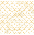 aged asian pattern white vector image