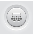 Business Conference Icon Online Learning vector image