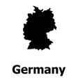 germany map icon simple style vector image vector image