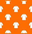 raglan tshirt pattern seamless vector image vector image