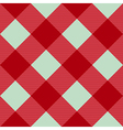Red Pink Green Diamond Chessboard Background vector image vector image