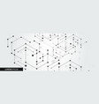 simple technology graphic background vector image vector image