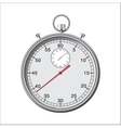 Stopwatch or chronometer vector image