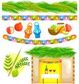 sukkot symbols vector image