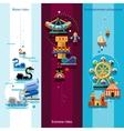 Amusement Park Banners vector image vector image