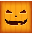 halloween greeting card design template vector image vector image