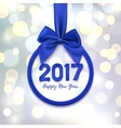 Happy New Year 2017 banner vector image